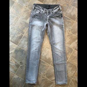 Silver Suki Flap Skinny Jeans